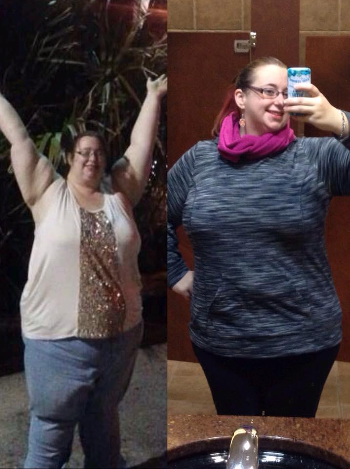 Jazmyne 140 libras 63 kilos ANTES y DESPUES bajar de peso