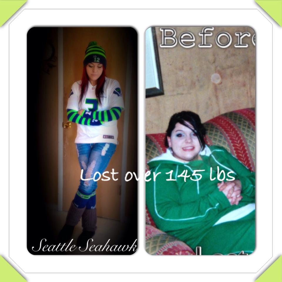 Joleen ANTES y DESPUES de bajar  65 kilos