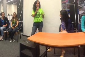 Panel de Mujeres Emprendedoras en Campus Party 2015