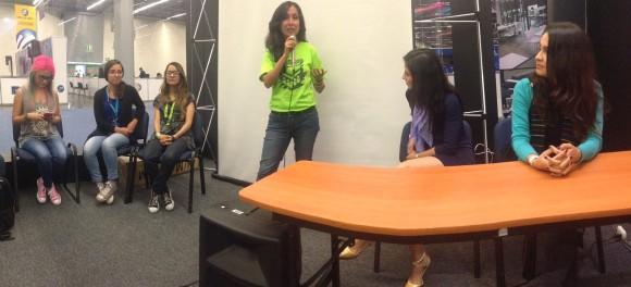 Panel de Mujeres Emprendedoras en Campus Party 2015
