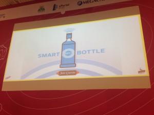 NFC en etiquetas de botella