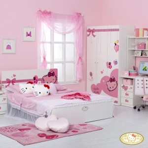 Recamara de Hello Kitty