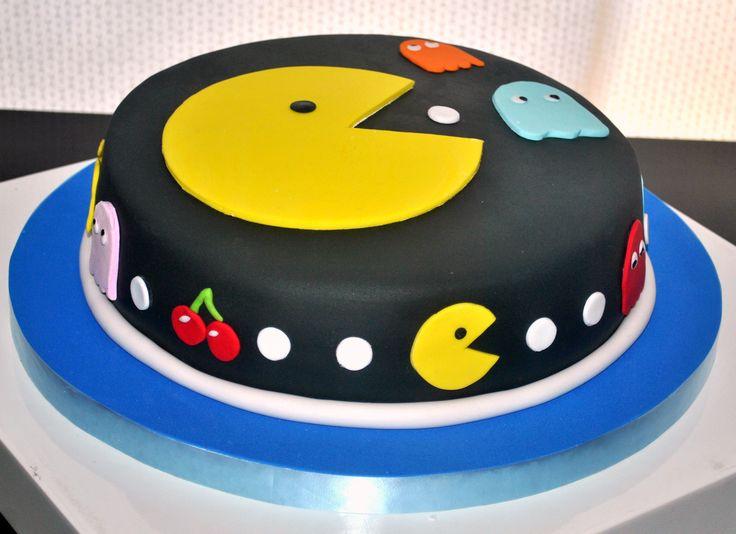 Un pastelito al estilo Retro Gamer, el legendario Pac Man.