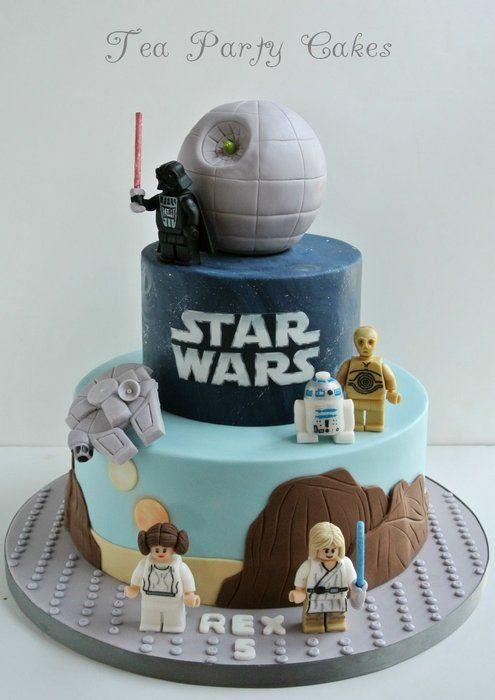 Star Wars en diseño fondant.