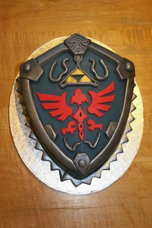 Wow, un perfecto escudo de Link.