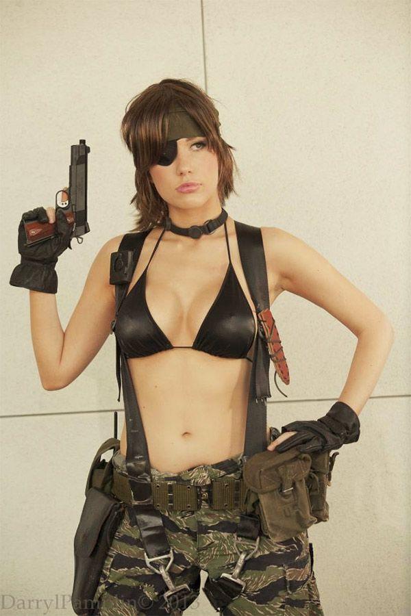 Chica sniper de Metal Gears Solid