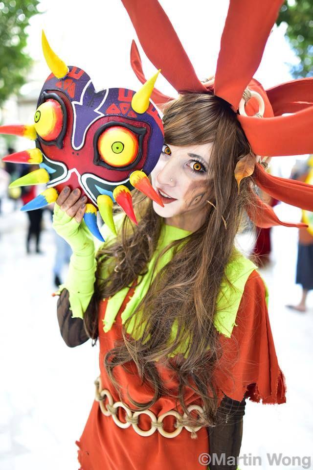 Majoras Mask de Zelda.