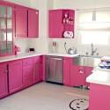 Hello Kitty hasta en la cocina.
