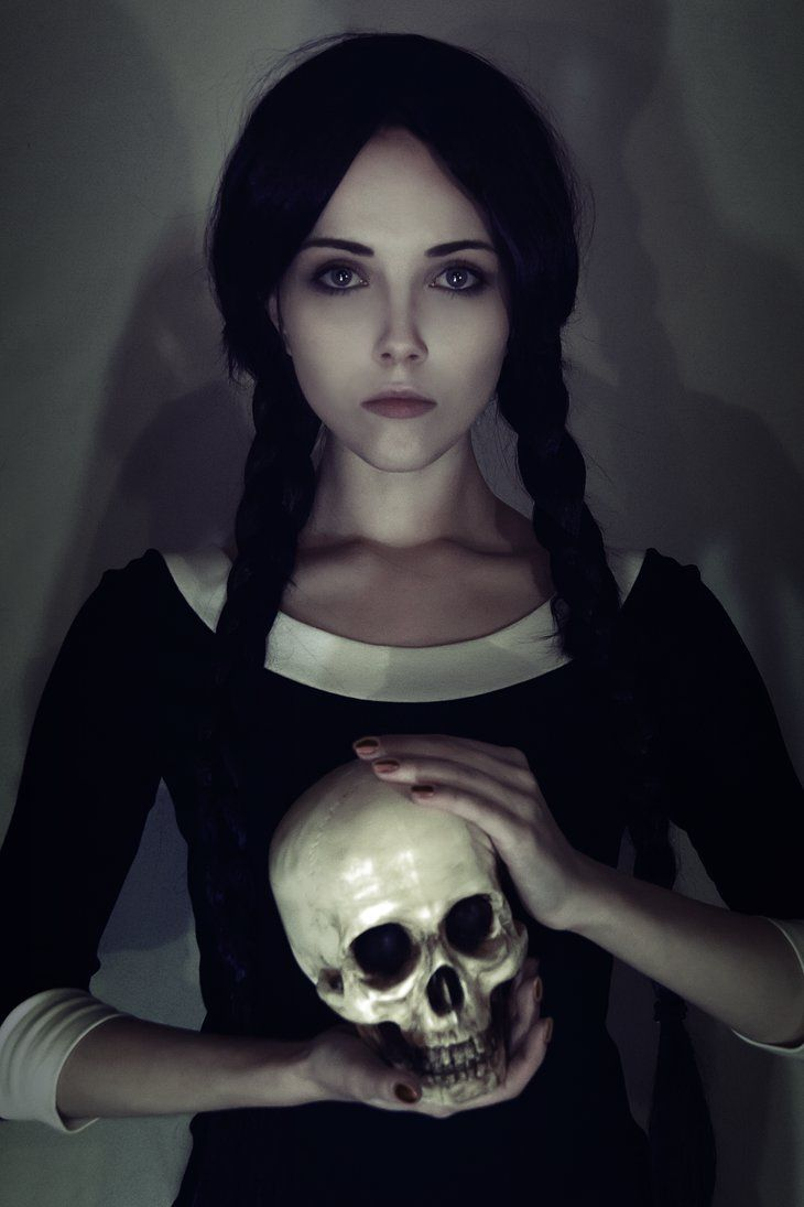 Wednesday Addams de los locos Adams.