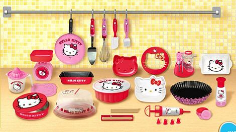 Hello kitty hasta en la cocina for Utensilios de cocina hello kitty