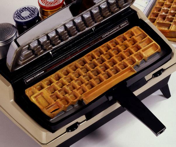 keyboard-waffle-iron