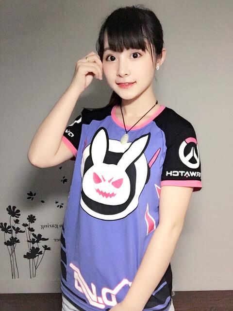 envio-gratis-conejo-encantador-camiseta-juego-de-caracteres-ow-d-va-camiseta-para-el-verano-jpg_640x640