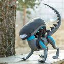 Ustedes también van a querer este tierno peluche de Alien-Xenomorfo