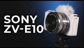 SONY ZV-E10 la cámara que todo vlogger quiere tener, resultados profesionales facil y rápido.