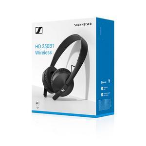 Sennheiser HD 250BT Wireless 25 horas de audio continuo sin interrupciones.